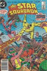All-Star Squadron (1981-1987) #33 Variant A: Newsstand Edition