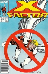 X-Factor (1986-1998) #15 Variant A: Newsstand Edition