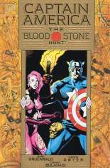 Captain America: The Bloodstone Hunt (1993) #TP Variant A