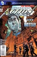 Action Comics (2011-2016) #7 Variant A