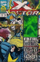 X-Factor (1986-1998) #92 Variant D: Wraparound Hologram Cover; Signed by Joe Quesada; Limited to 7500 Copies w/ COA