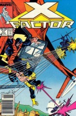 X-Factor (1986-1998) #17 Variant A: Newsstand Edition