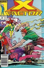 X-Factor (1986-1998) #20 Variant A: Newsstand Edition