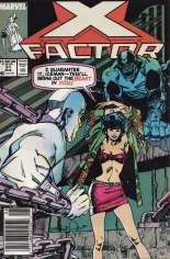 X-Factor (1986-1998) #31 Variant A: Newsstand Edition