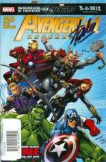 Avengers Assemble (2012-2014) #1 Variant F: DF Signed Edition; Signed by Stan Lee