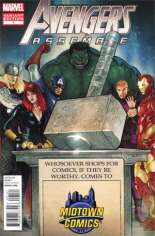 Avengers Assemble (2012-2014) #1 Variant HJ: Midtown Comics Hammer Time Exclusive