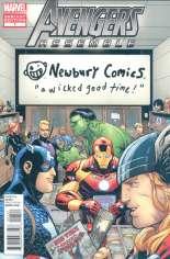 Avengers Assemble (2012-2014) #1 Variant GF: Newbury Comics Exclusive