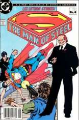 Man of Steel (1986) #4 Variant A: Newsstand Edition