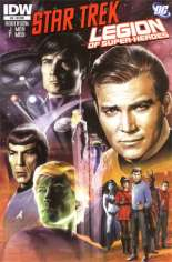 Star Trek/Legion of Super-Heroes #6 Variant C: Incentive Cover