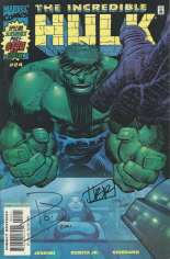 Incredible Hulk (2000-2008) #24 Variant C: DF Signed Edition; Signed by Paul Jenkins and John Romita, Jr.; Limited to 1500 Copies
