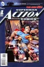 Action Comics (2011-2016) #1 Variant H: 5th Printing
