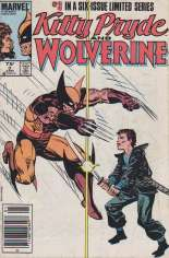 Kitty Pryde and Wolverine (1984-1985) #3 Variant A: Newsstand Edition