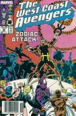 West Coast Avengers (1985-1989) #26 Variant A: Newsstand Edition