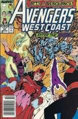 Avengers West Coast (1989-1994) #53 Variant A: Newsstand Edition
