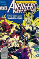 Avengers West Coast (1989-1994) #86 Variant A: Newsstand Edition