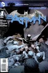 Batman (2011-2016) #1 Variant G: 4th Printing