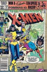 Uncanny X-Men (1963-2011) #153 Variant A: Newsstand Edition
