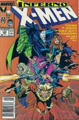 Uncanny X-Men (1963-2011) #240 Variant A: Newsstand Edition
