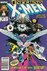 Uncanny X-Men (1963-2011) #242 Variant A: Newsstand Edition