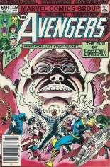 Avengers (1963-1996) #229 Variant A: Newsstand Edition