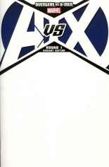 Avengers vs. X-Men (2012) #1 Variant B: Blank Variant
