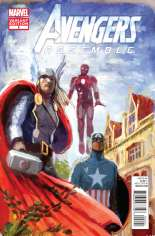 Avengers Assemble (2012-2014) #2 Variant B: 1:15 Avengers Art Appreciation Cover