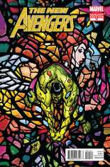 New Avengers (2010-2013) #24 Variant B: Avengers Art Appreciation Cover
