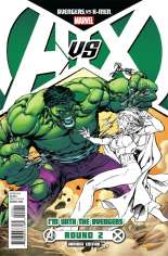 Avengers vs. X-Men (2012) #2 Variant B: Team Avengers Variant