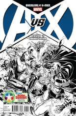 Avengers vs. X-Men (2012) #2 Variant D: DCD Summit 2012 Sketch Cover