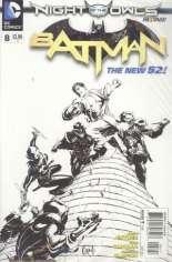 Batman (2011-2016) #8 Variant D: Sketch Cover