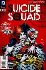 Suicide Squad (2011-2014) #7 Variant B: 2nd Printing