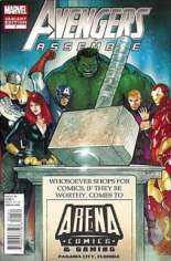 Avengers Assemble (2012-2014) #1 Variant HB: Arena Comics & Games Hammer Time Exclusive