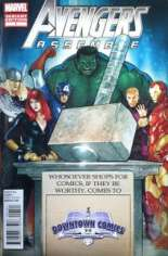 Avengers Assemble (2012-2014) #1 Variant HF: Downtown Comics Hammer Time Exclusive