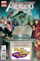 Avengers Assemble (2012-2014) #1 Variant HL: Play the Game Read the Story Hammer Time Exclusive