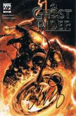 Ghost Rider (2005-2006) #1 Variant E: DF Signed Edition; Signed by Garth Ennis; Limited to 999 Copies