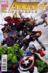 Avengers Assemble (2012-2014) #1 Variant I: 2nd Printing