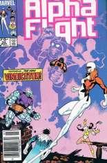 Alpha Flight (1983-1994) #32 Variant A: Newsstand Edition