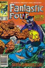 Fantastic Four (1961-1996) #266 Variant A: Newsstand Edition