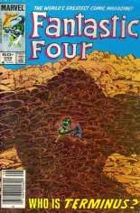 Fantastic Four (1961-1996) #269 Variant A: Newsstand Edition