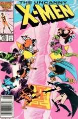 Uncanny X-Men (1963-2011) #208 Variant A: Newsstand Edition