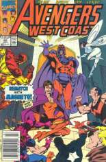 Avengers West Coast (1989-1994) #60 Variant A: Newsstand Edition