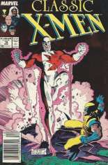 Classic X-Men (1986-1990) #16 Variant A: Newsstand Edition