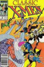 Classic X-Men (1986-1990) #12 Variant A: Newsstand Edition