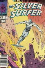 Silver Surfer (1988-1989) #2 Variant A: Newsstand Edition