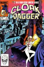 Cloak and Dagger (1983-1984) #2 Variant B: Direct Edition