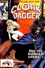 Cloak and Dagger (1983-1984) #3 Variant B: Direct Edition
