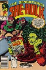 Sensational She-Hulk (1989-1994) #2 Variant A: Newsstand Edition