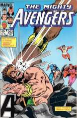 Avengers (1963-1996) #252 Variant B: Direct Edition
