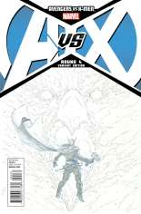 Avengers vs. X-Men (2012) #4 Variant F: Sketch Cover; 1:200 Variant