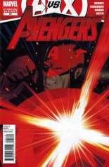 Avengers (2010-2012) #25 Variant D: 2nd Printing